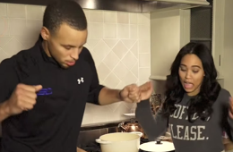 Stephen Curry and His Wife Remix Drake's '0 to 100'