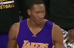 Wesley Johnson With the Dunk of the Night