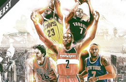 2015 Eastern Conference All-Star Game Starters