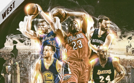 2015 Western Conference All-Star Game Starters