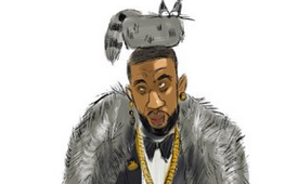 Amare Stoudemire 'Players Ball' Illustration