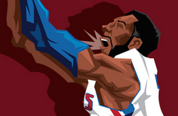 Andre Drummond 'Believer' Caricature Art