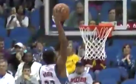 Andrew Wiggins Puts Up 27 Points, Again