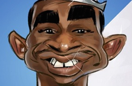 Andrew Wiggins 'Young Prince' Illustration