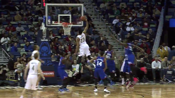 Anthony Davis Racks Up Another Double-Double