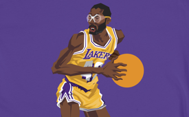 BlockNation James Worthy 'Big Game' Tee