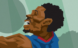 Brandon Jennings 'Young Money' Caricature Art