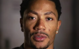 Derrick Rose Chops It Up With Inside Stuff