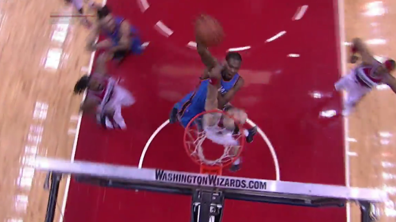 Kevin Durant Punched a Poster Dunk on Marcin Gortat
