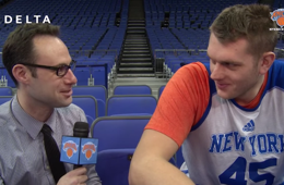 The Knicks Try Their Hand at British Terms