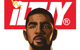 Kyrie Irving 'ILTHY 55′ Illustration