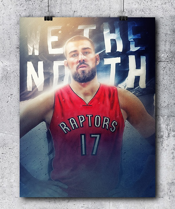 Toronto Raptors 'We The North' Poster Series