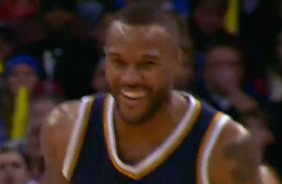 Trevor Booker Makes the Shot of the Year