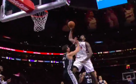 DeAndre Jordan Dunks All Over Marco Belinelli