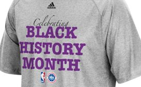 adidas NBA 'Celebration Black History Month' Tee