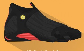 Michael Jordan x Air Jordan '6 RINGS' Illustration