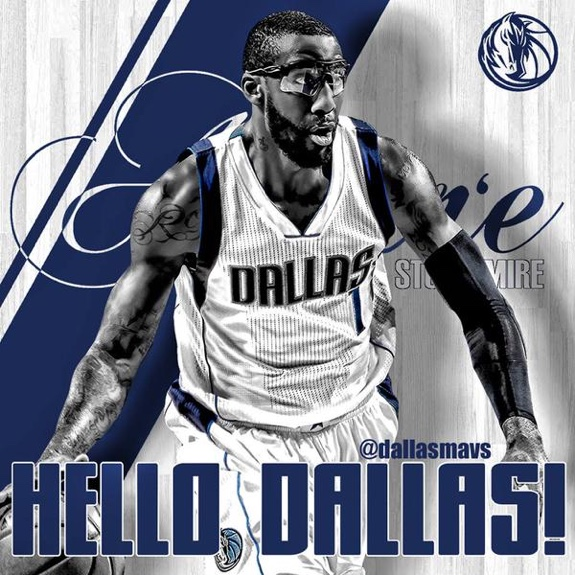 Dallas Mavericks Sign Amare Stoudemire