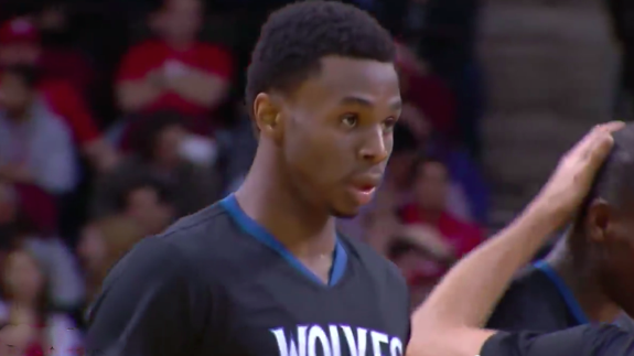 Andrew Wiggins Scores 30 Points on His Birthday