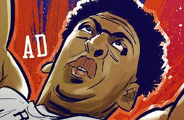 Anthony Davis '2015 All-Star' Illustration