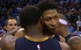 Anthony Davis Drops 41, Sinks OKC at the Buzzer