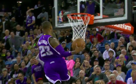 Ben McLemore Fastbreak Windmill Slam