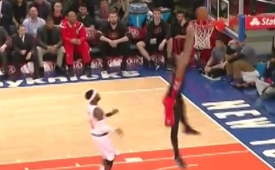 DeMar DeRozan Tried a 360 Dunk, Bad Idea