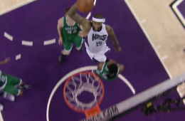 DeMarcus Cousins Dunks All Over Jae Crowder