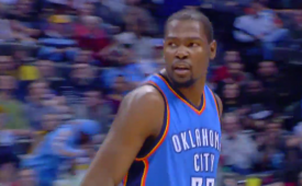 Kevin Durant Out For Season