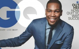 Kevin Durant Lands the Cover of GQ