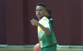 LeBron James Jr. Is a 10-Year-Old Bawse