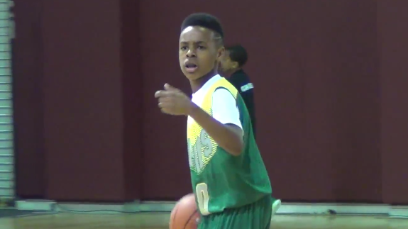 a30f73d159997 LeBron James Jr. Is a 10-Year-Old Bawse – Hooped Up