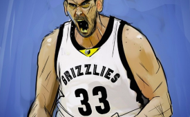 Marc Gasol '2015 All-Star' Illustration
