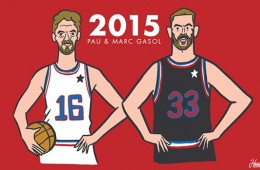 Carrying the Spanish Flag, Marc and Pau Gasol Look to Shine in All-Star Game