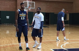 Paul George Returns To Pacers Practice