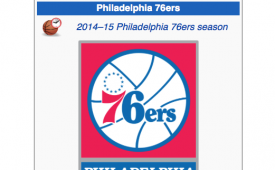 An Angry Fan Just Updated the Sixers Wikipedia Page