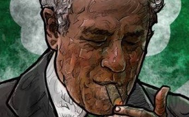 Arnold Jacob 'Red' Auerbach Illustration
