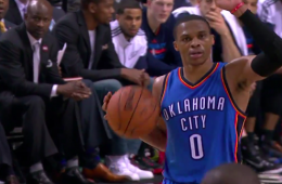 Russell Westbrook Third Straight Triple-Double