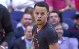 Stephen Curry Pours In a Fun 32 Points