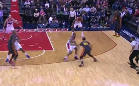 Stephen Curry Dances On the Wizards