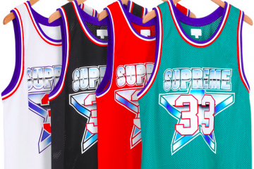 Supreme All-Star Basketball Jersey