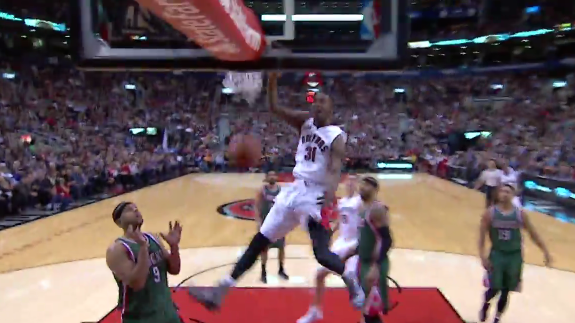 Terrence Ross With a 270 Hammer