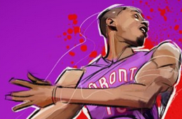 Terrence Ross '2013 Dunk Champ' Illustration