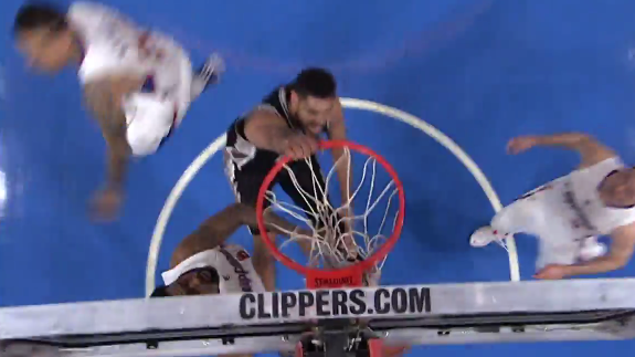 Tim Duncan Drops the Hammer on DeAndre Jordan
