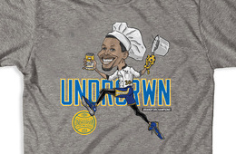 UNDRCRWN 'Chef Curry' Caricature Tee