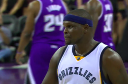 Zach Randolph Casually Nails a 65-Foot Shot