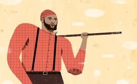 Demarcus Cousins x Paul Bunyan Illustration
