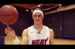 Gareth Bale Is Better Than You at Halfcourt Shots