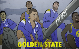 Golden State Warriors 'Fury' Illustration