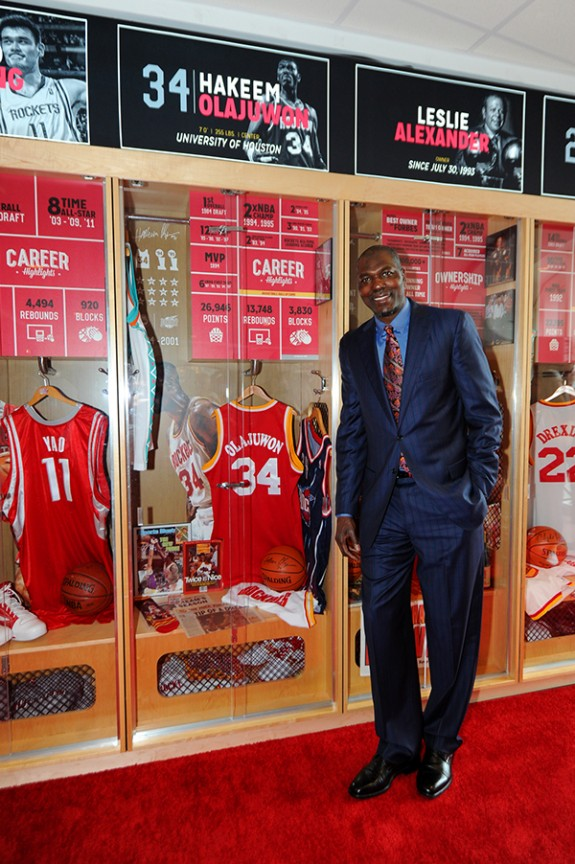 Houston Rockets Legends Lockers