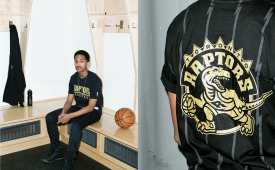 October's Very Own x Toronto Raptors x Mitchell & Ness Spring 2015 Capsule Collection